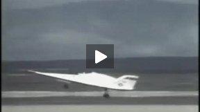 X-24B Flight