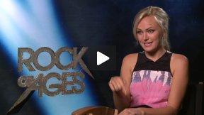 "Julianne Hough & Diego Boneta ""Rock of Ages"" Interview – Finding Their Inner Rock Stars"
