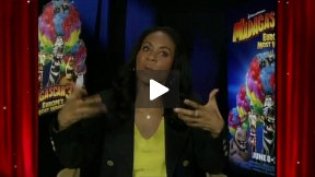 "Gloria Speaks!  My Fun ""Madagascar 3"" Interview with Jada Pinkett Smith"