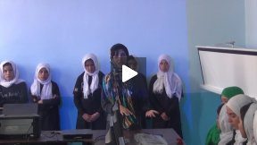 Roya Mahboob's speech at the Houz-e-Karbas Classroom Opening