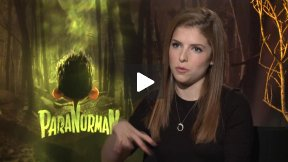 """Anna Kendrick Interview for """"ParaNorman"""""""