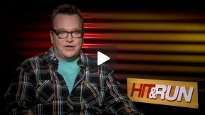 """My Fun Interview with Tom Arnold for """"Hit and Run"""""""