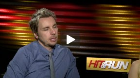 """Kristen Bell and Dax Shepard Interview for """"Hit and Run"""""""