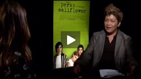 """Nina Dobrev Talks About """"The Perks of Being a Wallflower"""""""