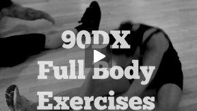 90DX Full Body Exercises for Abs