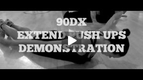 90DX Extend Push Ups Demonstration