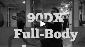 90DX Full Body Lunges