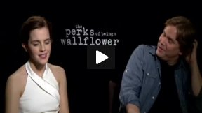 """Emma Watson and Stephen Chbosky Interview for """"The Perks of Being a Wallflower"""""""