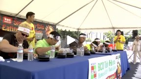 BCD Tofu - the Spicy Soon Tofu eating contest in Koreatown 2012