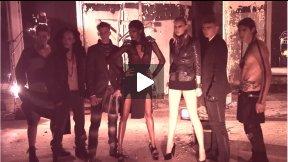 FRANKIE MORELLO ~ 2011 Ad Campaign ~ Behind the Scenes