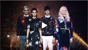 'FLOWERWORKS' ~ Fashion Film by Luca Finotti for MSGM