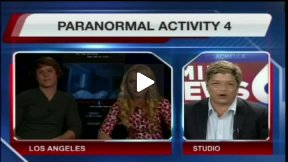 """""""Paranormal Activity 4"""" Interview with Kathryn Newton and Matt Shively"""