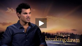 """My Fun Interview with Taylor Lautner for """"Twilight Saga: Breaking Dawn Pt. 2""""  Yes, We Talked About His Shirtless Scene!"""