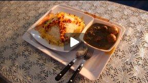 Food in Afghanistan - Ghurma Sabzey in Afghan Kitchen