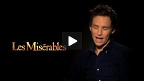 """Eddie Redmayne (Marius) Interview for """"Les Miserables"""" – He's Wearing the Same Hairdo!"""