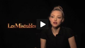 "Amanda Seyfried (Cosette) Interview for ""Les Miserables"""
