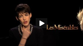 "My Fun Interview with Anne Hathaway for ""Les Miserables!'  I Told Her She'll Win an Oscar!"