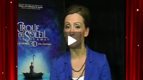 """Cirque Du Soleil: Worlds Away 3D"" Interview with Erica Linz"