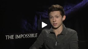"Tom Holland Interview for ""The Impossible"""