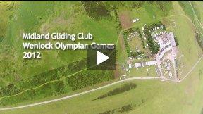 Midland Gliding Club - Wenlock Olympian Games 2012 - DVD Trailer