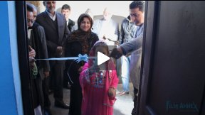 Opening of Film Annex Internet Classroom at Mahjoobe Heravi High School, Herat, Afghanistan