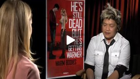 "Teresa Palmer Talks About ""Warm Bodies!"""