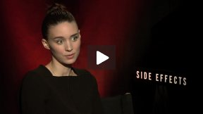"""Rooney Mara Untangles """"Side Effects!""""  See My Fun Interview!"""
