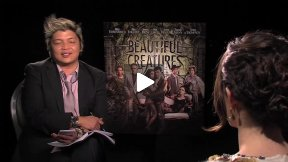 "Emmy Rossum ""Beautiful Creatures"" Interview"