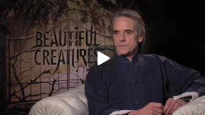 """The Fantastic Jeremy Irons Talks About """"Beautiful Creatures"""" and Google!"""