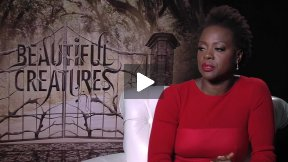 """The Lovely Viola Davis Talks About """"Beautiful Creatures"""""""