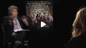 """""""Beautiful Creatures"""" Interview with Alice Englert & Alden Ehrenreich"""