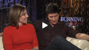 """Burning Love"" Interview with Ken Marino and June Diane Raphael"