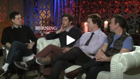 """Burning Love"" Interview with Funny Cast"