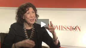 "My Fun Interview with the Lovely Lily Tomlin for ""Admission"" – I LOVE HER!"