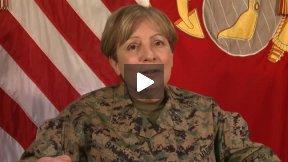 Maj. Gen. Salinas Women's History