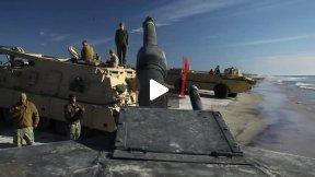 2nd Tanks crash Onslow Beach