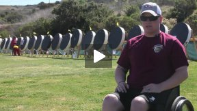 Wounded Ohio Marine competes in 2013 Marine Corps Trials