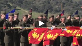 2nd Battalion 1st Marine Regiment Change of Command