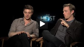"Max Irons (Jared) & Jake Abel (Ian) Interview for ""The Host"""