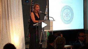 Fereshteh Forough and Lara Logan - American University in Afghanistan Fundraiser - The Afghan Perspective