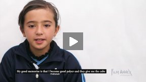 Afghanistan Female Football Player, 9 year old Mona Amini, on Sports and Girls Empowerment