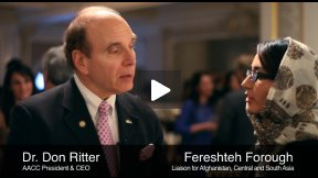 Dr. Don Ritter, AACC President & CEO on Women Empowerment in Afghanistan with Economy and Education