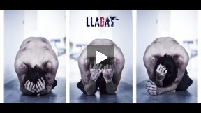 Llagas - Bloopers in a horror film!