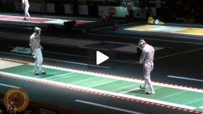 Last 32 - Tiberu Dolniceanu ROU v Nicolas Lopez FRA - Catania World Championships 2011