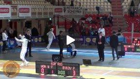 Last 32 - Pavel Bykov RUS v Won Woo Young KOR - Luxardo 2012