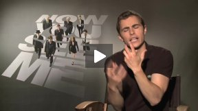 "Dave Franco Talks About ""Now You See Me"" – And Shows His Card Tricks"