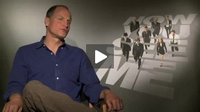 "Woody Harrelson Talks About ""Now You See Me"" and Hypnotizes Me!"