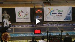 Cancun 2012- L4 - Maurice ARG v Wozniak USA