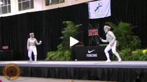 Chicago 2012 - FINAL - Kharlan UKR v Zagunis USA