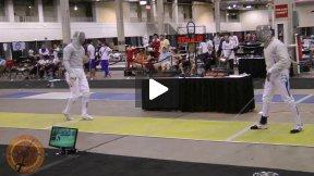 Chicago 2012 - L32 - Apithy FRA v Huebers GER (Partial)